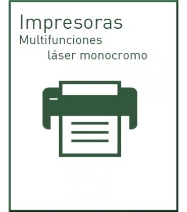 Multifunciones láser monocromo