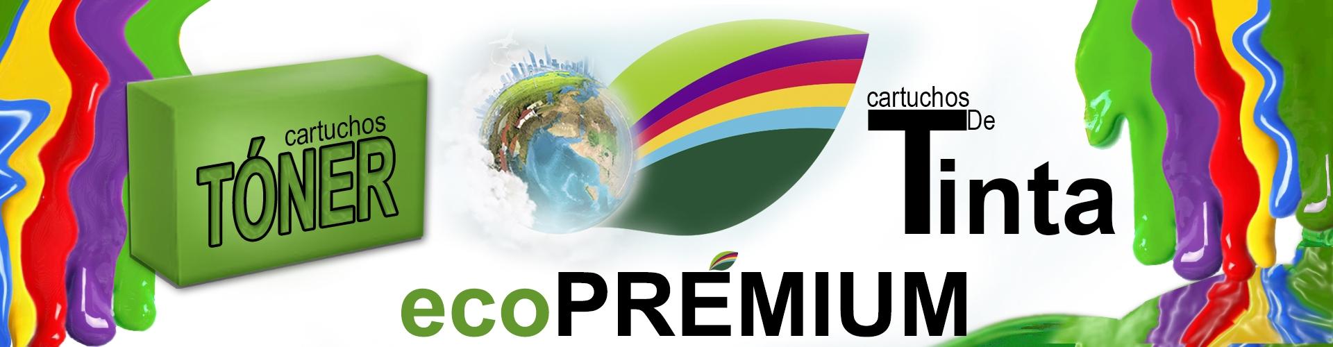 Cartuchos de tinta y tóner eco-premium